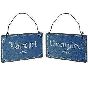 Vacant / Open Sign